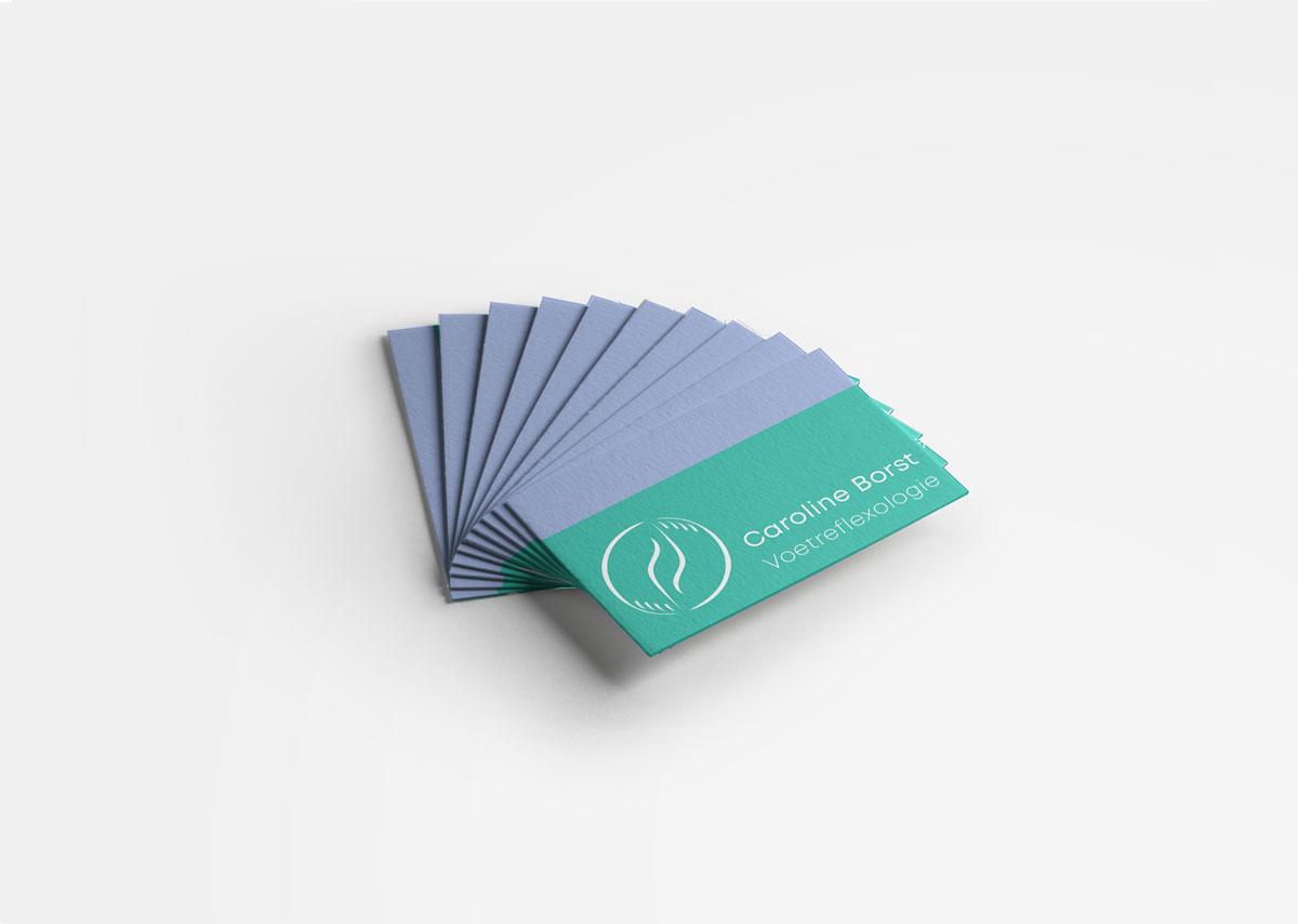 Logodesign Caroline Borst Voetreflexologie