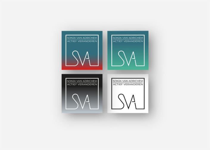 Logodesign Sonja van Adrichem Coaching