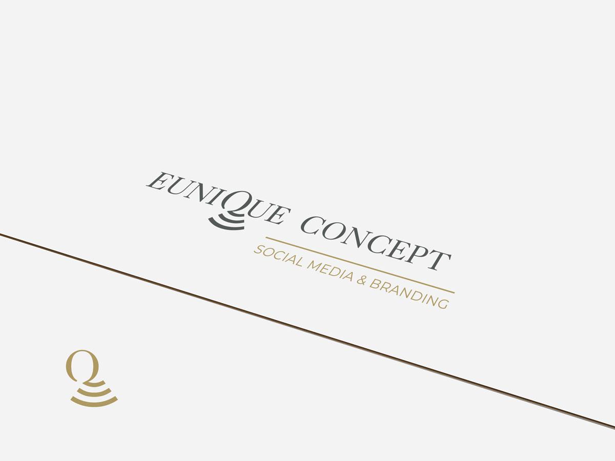 Logodesign Eunique Concept