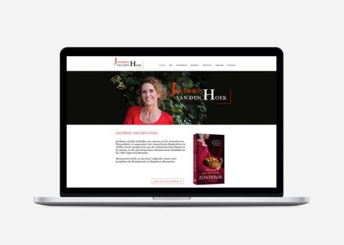 Jacobine van den Hoek restyling Wix website