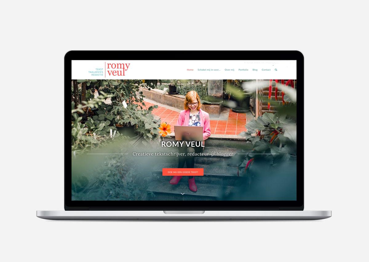 Romy Veul Restyling Wordpress website